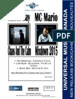 UMC UNI15-10 Mar 24th, 2015