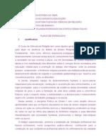 Plano de Ensino -Prática de Ensino I - 2014