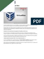 Kali Linux en Virtual Box