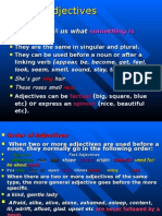 Adjectives Fce2