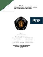 Tugas Kelompok PBO-F CRC kereta api