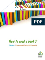 How to Read Book