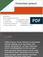 Kelompok 6 Jarkom CSMA