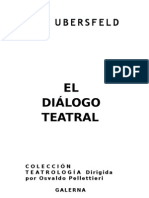 El Diálogo Teatral - Anne Ubersfeld