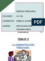 t.9 La Administracion Tributaria