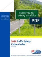 AAA 2014 Traffic Safety Culture Index Report
