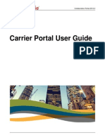 carrier portal user guide