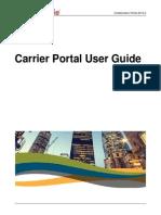carrier portal user guide