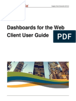 dashboards for the web client user guide