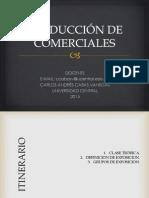 Producción de Comerciales 2015-1