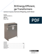 Premium 30 Energy Efficient Transformers