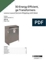 Premium 30 Energy Efficient Transformers