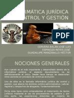 Informática Jurídica de Control y Gestión