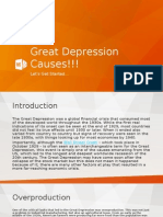 great depression causes!!!