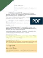 Cálculo de La Sección de Conductores-Ejemplo