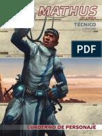 Mathus (Personaje de Al filo del Imperio)