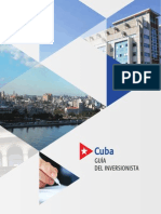 Guia Para Potenciales Inversionistas en Cuba 3 Oct 2014