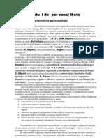 Sistemul de personalitate _ RAPORT by R.I. _ USM, FJSC