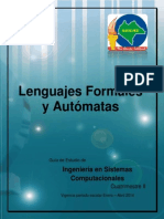 Lenguajes Formales y Automatas, Isc