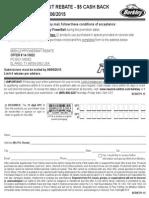 BERKLEY® POWERBAIT REBATE - $5 CASH BACK valid 2/1/15 - 7/6/15
