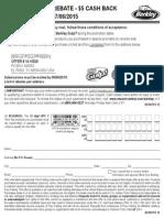 BERKLEY® GULP!® REBATE - $5 CASH BACK valid 2/1/15 - 7/6/15