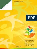 Atenção Integral a Adolescentes e Jovens  Vivendo Com HIV Aids 2013