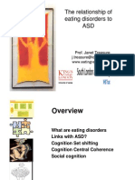 J Treasure the Relationship of Eating Disorders to ASD