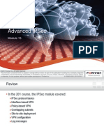 Fortinet 301 FG Advanced IPsec