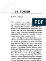 Soft Power by Joseph S Nye