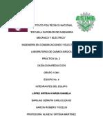 Práctica 3 - Química Básica