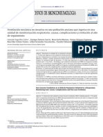 ventilacion mecanica no invasiva en población anciana perspectivas