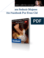 Guía Para Seducir Mujeres en Facebook Por Evan 2.0