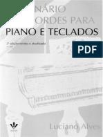Dicionário de Acordes Para Piano e Teclados