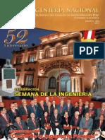 Revista Ingenieria 52 Años Perú