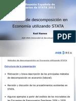 Métodos de descomposición en Economía utilizando STATA.ppt