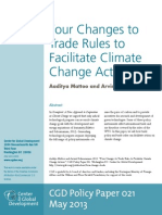 Four Changes to Trade Rules to Facilitate Climate Change Action