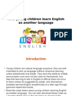 How Young Children Learn English as Another Language