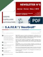 FR - Newsletter N°5 Juillet - Janvier - Février - Mars  2015