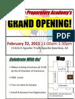 "APA ""AJ Campus"" Grand Opening"