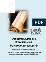 Discipulado Doctrinas Fundamentales Final