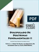 Discipulado Doctrinas Fundamentales Final