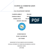 FYP Report p06-0140 Nadeem Ashraf Free Space Optical Communication Sytem(FSO) Nadeem Fakhar Gohar