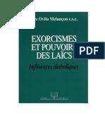Exorcismes Et Pouvoirs Des Laïcs