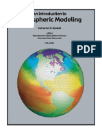 An Introduction to Atmospheric Modeling