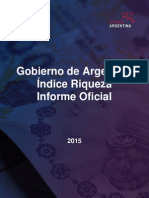 Argentine Gov't Official Wealth Report