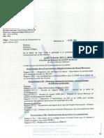OJ conseil CAGB du 12 fevrier 2015