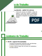Acidente de Trabalho Aspecto Legal