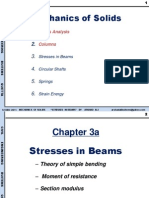 Chapter 3 a Stresses in Beams 1 Per Page