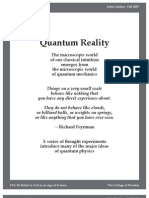 Richard Feynman-Quantum Reality