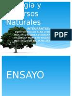 Biología y Recursos Naturales